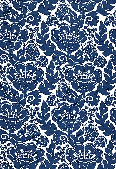 Louis Nui Print Schumacher Fabric