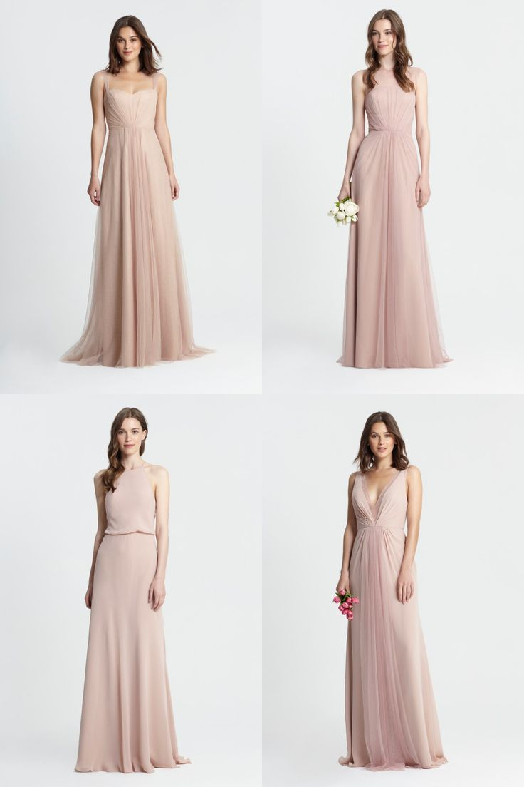 996 best bridesmaids images on pinterest bridesmaids marriage mismatched blush and neutral bridesmaid dresses ombrellifo Gallery