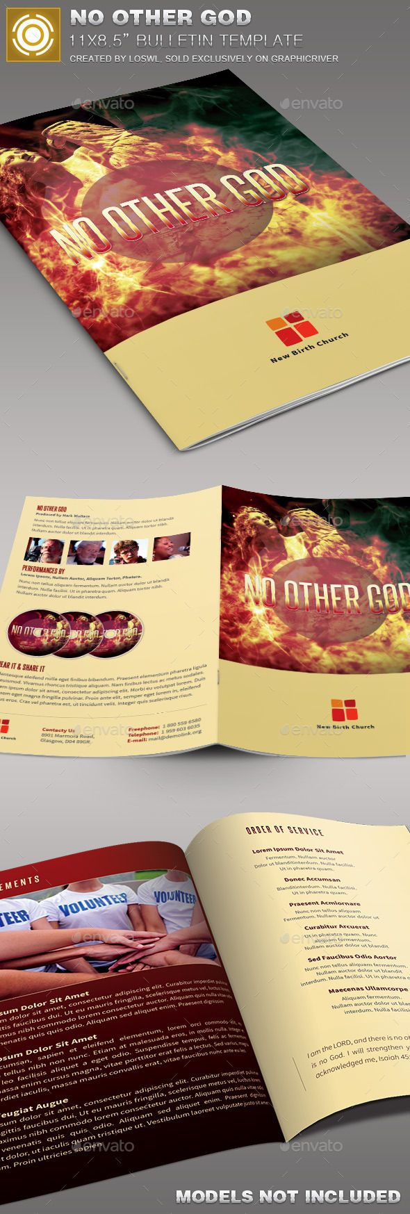 1000 ideas about church bulletins on pinterest church for Weekly bulletin template