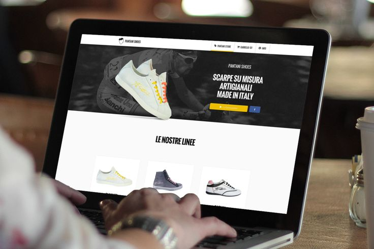 Pantani Shoes Website, which I designed and coded: http://www.pantanishoes.it