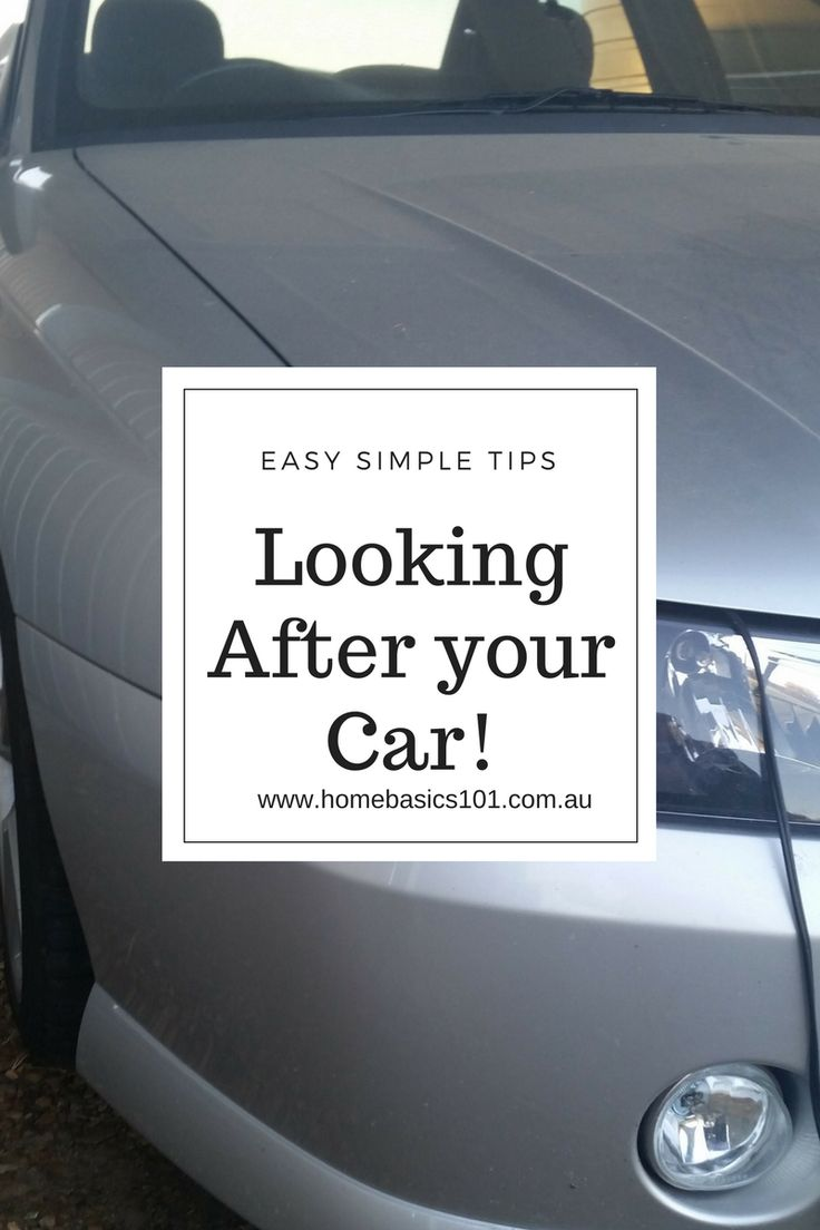 Want Help to Look after your Car?  Helpful Tips on Maintaining your car to save you money!