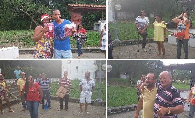 20/12/14 - Santo Amaro, BA - confraternização 2014