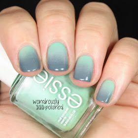 Mint/Grey Gradient: Wondrously Polished
