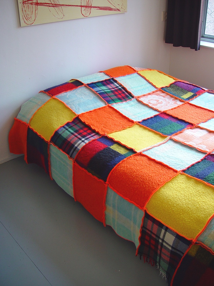 Marlies Spaan blanket quilts