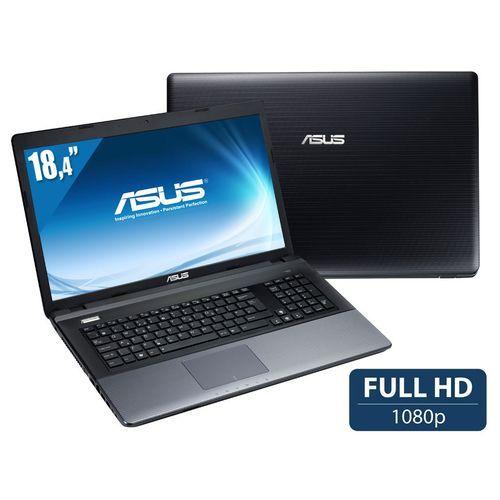 """ASUS - Processeur Intel® Core™ i7-3630QM (2,4 GHz / 3,4 GHz Turbo) - Ecran 18,4"""" Full HD LED Blacklight - Résolution de 1920 x 1080 pixels - RAM 8 Go - Disque dur de 1 To - Carte graphique NVIDIA GeForce GT 740M 2 Go dédiés optimus - Port HDMI - Graveur de DVD - Réseau Ethernet - Réseau sans fil WiFi N - Lecteur de cartes 4 en 1 - Webcam HD - Haut-parleurs Altec Lansing intégrés - Pavé numérique - Batterie 6 cellules - Poids de 4,1 Kg - Windows 8 64 bits - 899 €"""