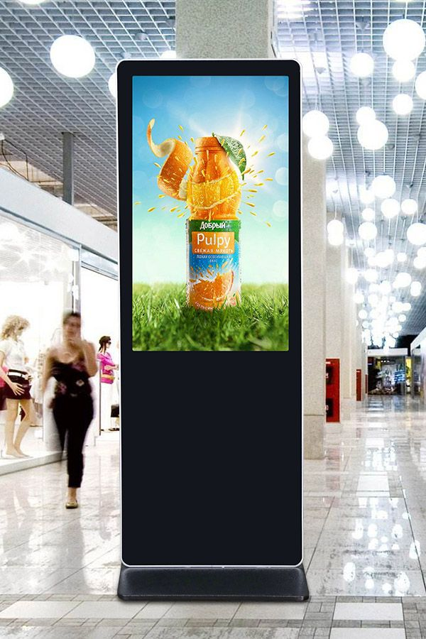 55 Inch Android Wifi Floor Standing Lcd Advertising Display