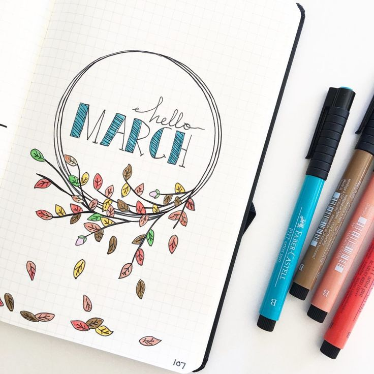 Tips and ideas for drawing in the Bullet Journal. 12 drawing prompts you can use to get started. Free printable drawing prompt page included. Click through to learn more and download the free printable.
