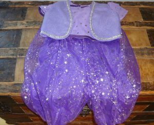 DIY Shimmer and shine costume