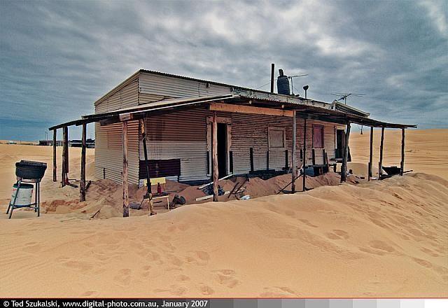 Port Stephens - Stockton Bight Sand Dunes - Tin City