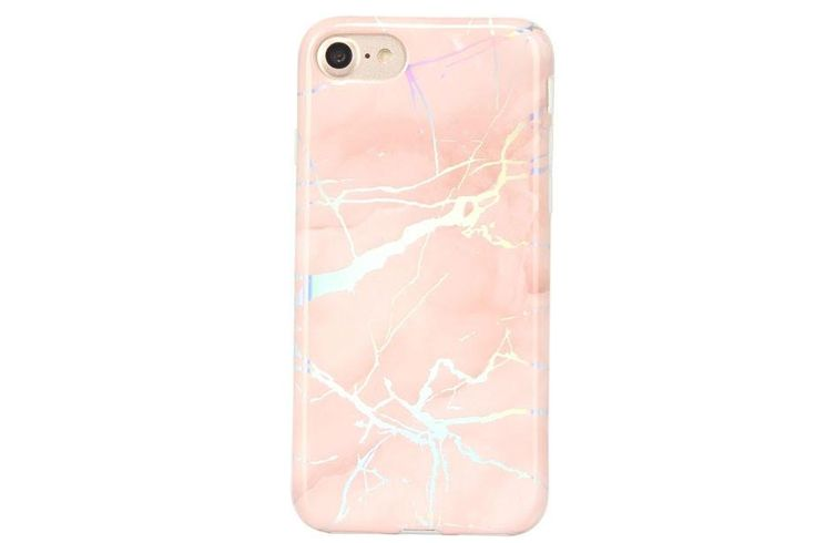 Descriptions In-stock & ships out within 2 to 3 business days Reflective holographic metallic marble design 360 full border protection with a raised lip to prevent cracked screens Shock absorbent with access to all ports and buttons Made of high quality TPU with a glossy finish for a sleek and protective design Available for iPhone X, 8/8+, 7/7+, 6/6+ Shipping & Returns Returns & Exchange: This item can be returned or exchanged within 2 days of ...