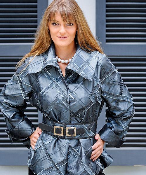 Elena Urrutia #tono de grises #elegante #invierno #glamour #fashion