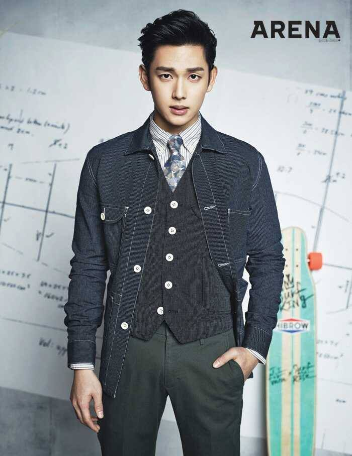 Siwan - Arena Homme Plus Magazine April Issue '14