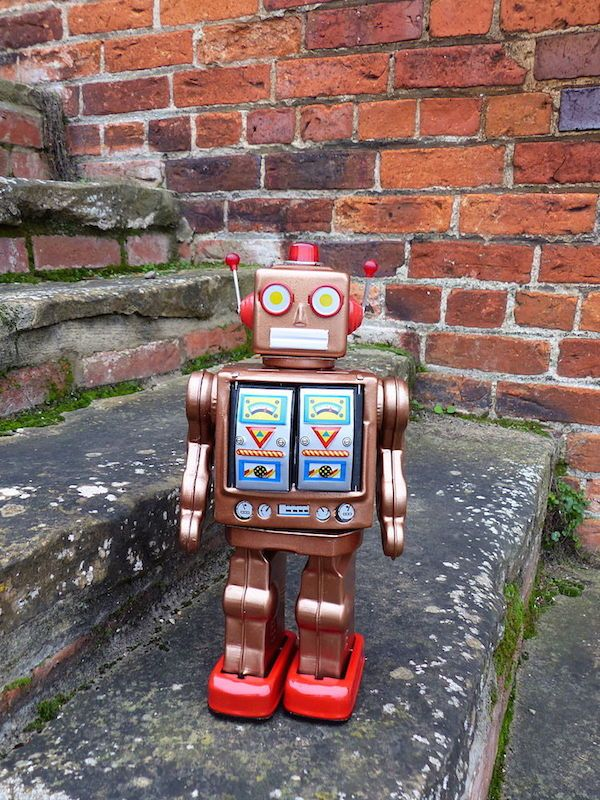 copper-robot
