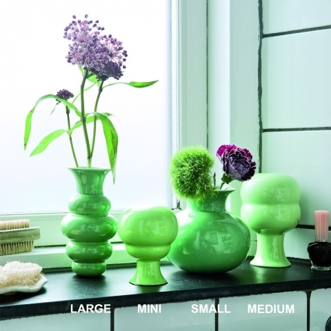 Primavera vases from the brand Kähler Design