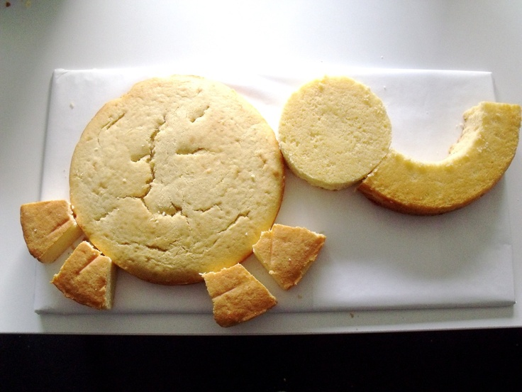 how to make an elephant cake - Google Search