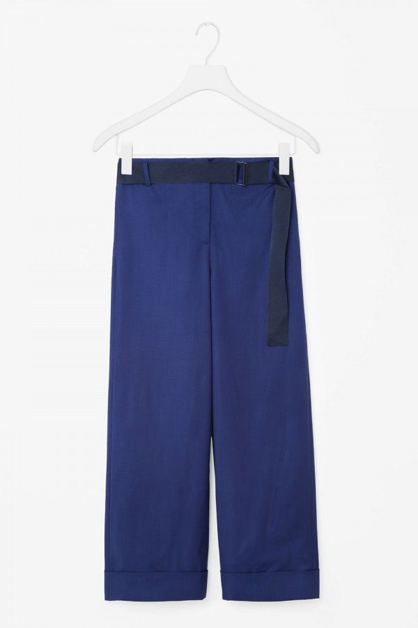 Cos Trouser With Belt Detail, £79