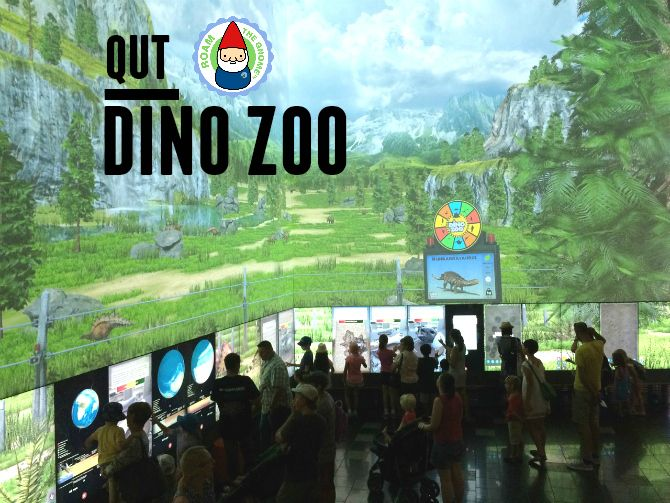 Check out this WORLD FIRST interactive Dino Zoo!