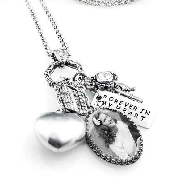 Memorial Urn Ashes JewelryCremation Urn Charm by BlackberryDesigns