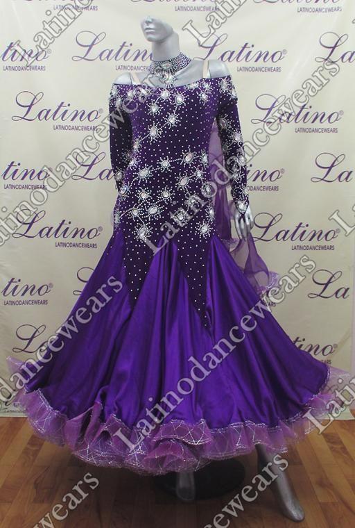 BALLROOM COMPETITION DRESS LDW (SS60A) BALLROOM-COMPETITION-DRESS-LDW-SS60A Latino Dancewears
