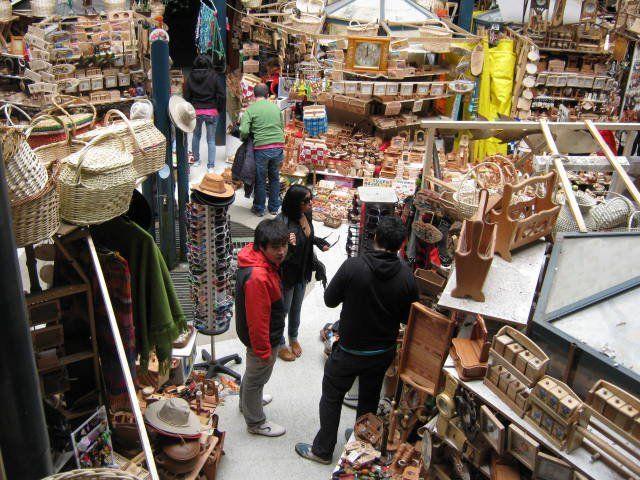 Feria artesanal. Valdivia