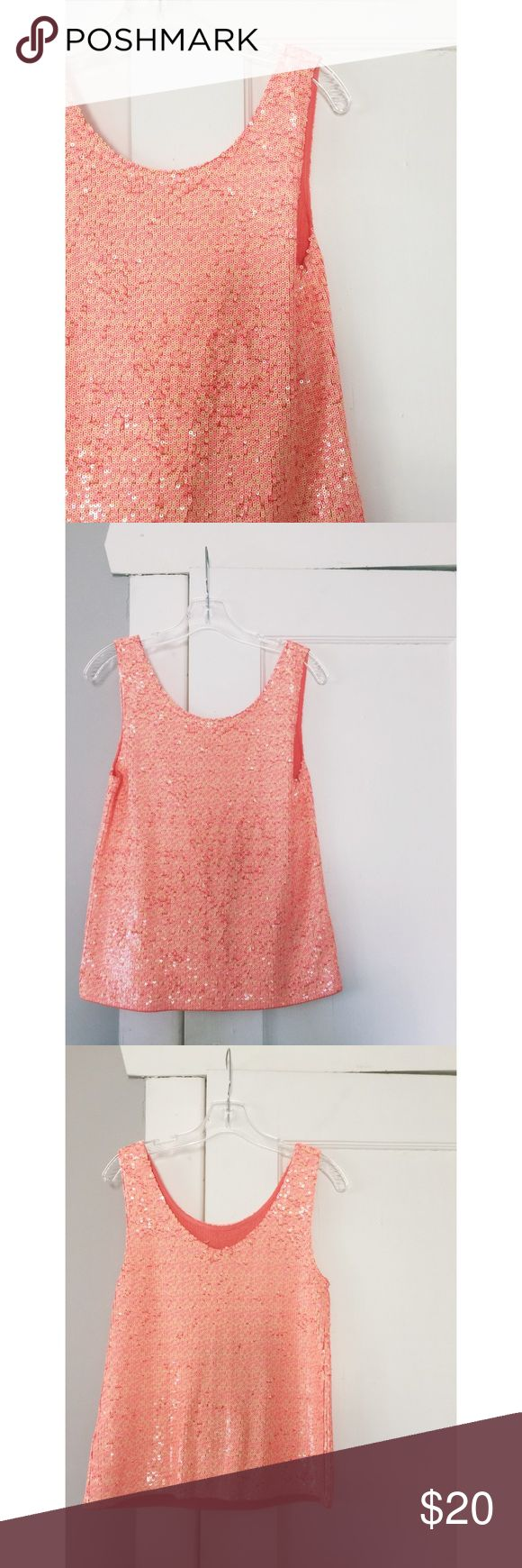J.Crew Sequin Tank Top J.Crew Sequin Tank Top.  New with tags.  $128 retail.  Perfect condition.  Women's size XS. J. Crew Tops Tank Tops