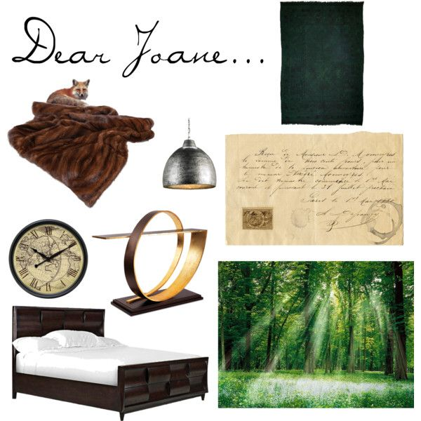"""Warm earthy bedroom"" by michael-xv on Polyvore"