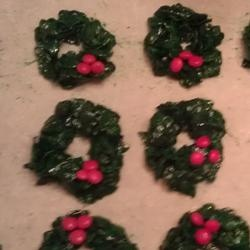 Christmas Cornflake Wreath Cookies Allrecipes.com