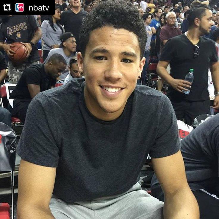 Summer scouting!  #Repost @nbatv: @suns rookie @dbook courtside at #NBASummer