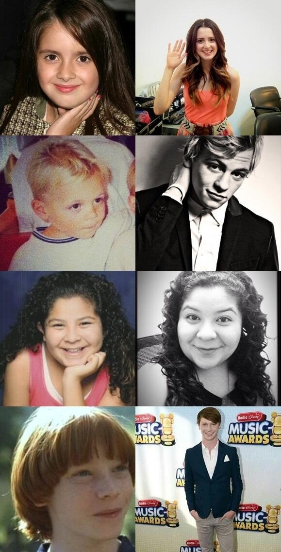 Laura Marano, Ross Lynch, Raini Rodriguez, and Calum Worthy