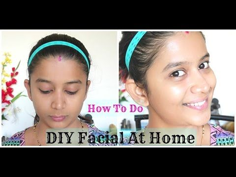 NATURAL BRIDAL FACIAL | DIY FACIAL FOR GLOWING SKIN - YouTube