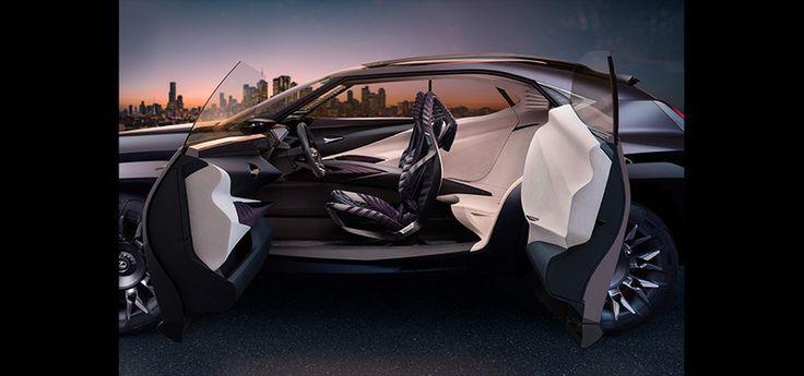 のんびり なまけにっき: LEXUS UX Concept 発表!