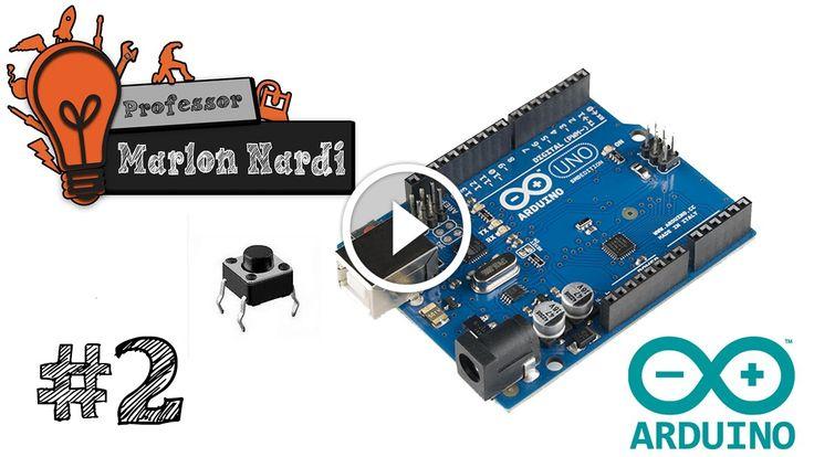Universo Arduino #2 | Entradas Digitais Pull-Up Pull-Down Botões com Arduino                                           Neste vídeo você vai aprender como utilizar as entradas digitais do Arduino, o que é circuito Pull-Up e Pull-Down, e como acionar saídas digitais através das entradas digitais, tudo isso com vários exemplos e explicação de linha por linha. Programação... arduino a4988 cnc shield, arduino cnc forum, arduino cnc fresadora, arduino cnc mill software