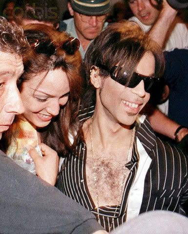 Prince and Mayte Garcia - 385 x 480