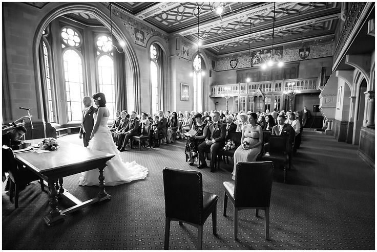 Manchester Town Hall wedding photography by Kate Scott - www.katescottphotography.co.uk