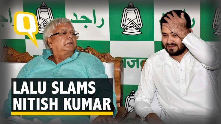 Nitish Kumar's Resignation Was Pre-Planned: Lalu Prasad Yadav