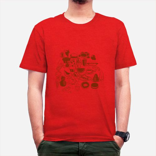 United Junk Food dari Tees.co.id oleh Crazy Peoples