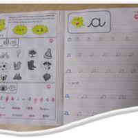 Cahier d'écriture et de phonologie GS trop bien !                                                                                                                                                                                 Plus
