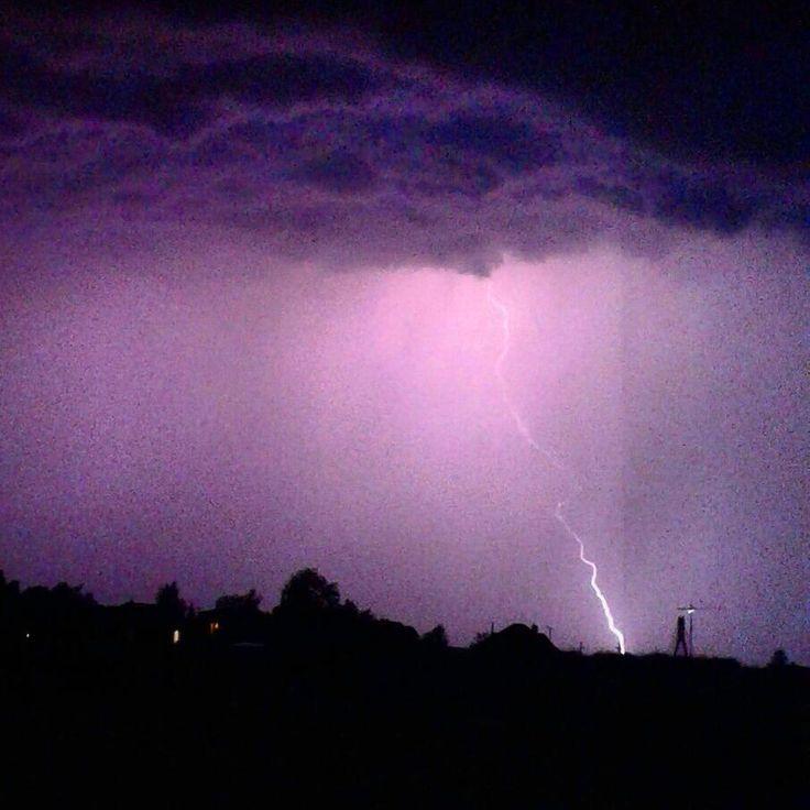 #burza#deszcz#błyskawice #pioruny #rzeszów #poland#night #storm#lightning #thunderbolt