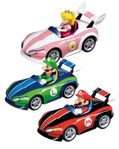 Consigue los coches de Mario Kart