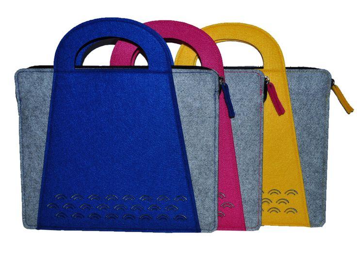 2015 nova sentiu saco para as mulheres para Macbook Air / Pro 13.3 polegada Proctive feltro de lã bolsas em Bolsas & cases para notebook de Computador & rede no AliExpress.com   Alibaba Group