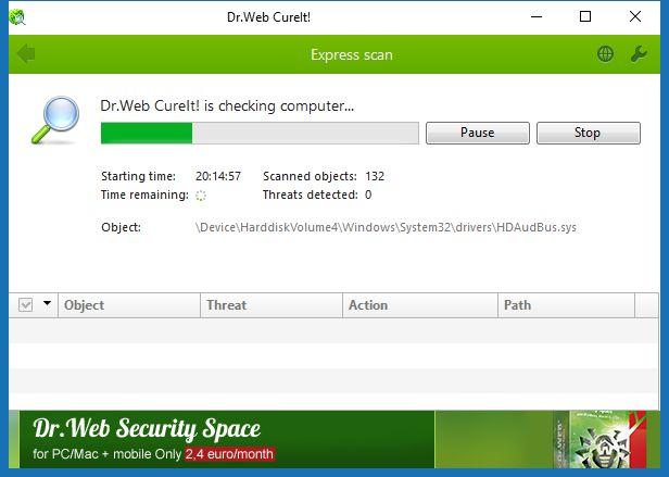 PROGRAM TAVSİYESİ : Dr.Web CureIt – Bilgisayarınızı Virüs Saldırılarına Karşı Koruyun