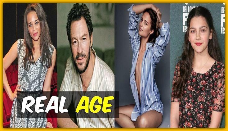 Tomb Raider Cast Real AGE 2018 Film
