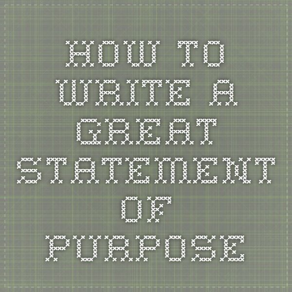 11 best Statement of Purpose images on Pinterest Graduate school - how to prepare a sop format