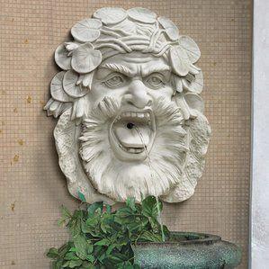 Wayfair Wildon Resin Wall Sculptural Fountain