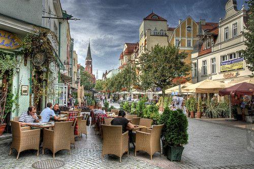 SOPOT, POLAND a quaint seaside town on the southern coast of the Baltic Sea.
