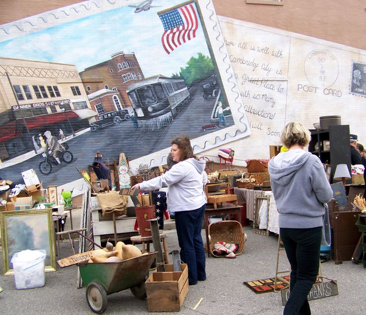 Cambridge City Antique Fair guarantees you that you'll find a wide array of curious antiques and collectibles