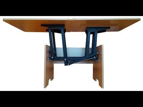 Механизм трансформации стола (МТ-2) - YouTube