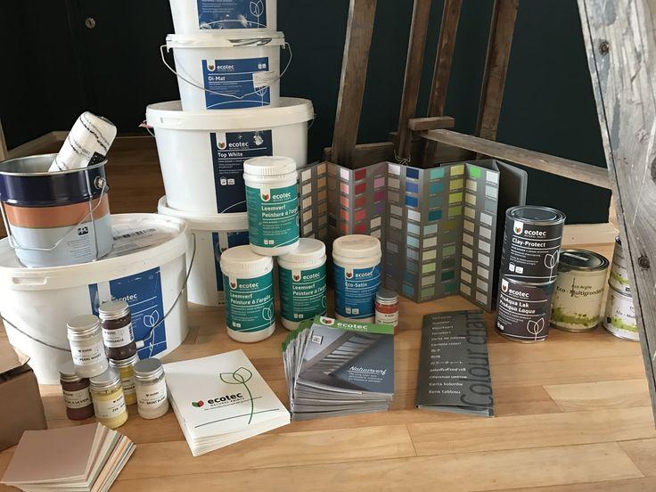 Klaar voor de start. Ecotec natuurverf heeft alle verf voor je nieuwe interieur.