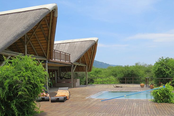 """Siqalo Lodge at Royal Jozini - Swaziland, was the first lodge to be built at Royal Jozini, and Siqalo means """"First Born"""". This dramatic lodge is situated on the waterfront, and with its vast decks to enjoy the outdoors, is a place from where you can enjoy nature at its best.  See more of Siqalo Lodge on http://www.wheretostay.co.za/siqalolodge/"""