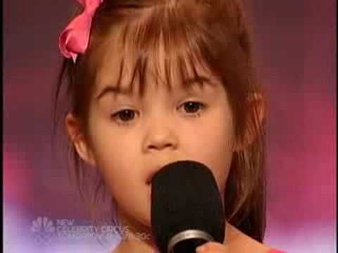 America's Got Talent - Kaitlyn Maher - Youngest Singer I have ever seen - I thought Jaidyn would love this, because I've heard she herself can really nail it!!!!!